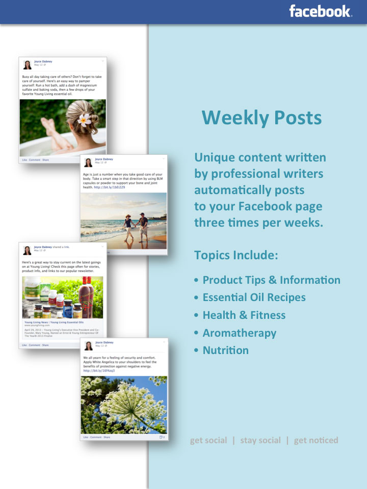 Young Living Social Media Offer